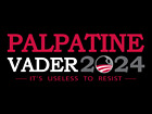 Palpatine & Vader 2020 Star Wars inspired black TShirt $19.99 USD on eBay