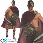 SPARTAN WARRIOR FANCY DRESS COSTUME ADULT MENS ROMAN GREEK GLADIATOR OUTFIT