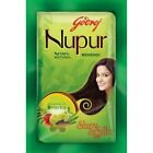 Godrej Nupur Mehndi Henna Heena Hair Color Amla 100% Natural Free Ship US SELLER