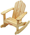 Little Colorado Child's Wooden Adirondack Rocking Chair 141- PERSONALIZE FREE!