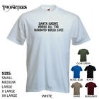 'Santa knows where all the naughty girls live' Xmas Funny mens T-shirt. S-XXL