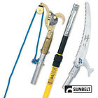 JAMESON NEW 6' 12' TELESCOPING POLE PRUNER AND POLE SAW QUICK CHANGE HEAD