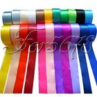 "1 Roll 25 Yards 1.5"" 38mm Satin Ribbon Craft Bow Wedding Party Supply Colours"