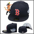 New Era Boston Red Sox Fitted Hat Cap 2004 World Series Side Patch MLB 59fifty on Ebay