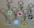 Trolley Coin Keyring with Christian Design