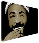 Marvin Gaye Smile Black  - Canvas Wall Art Pictures For Home Interiors