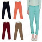 2012 New Girl's Harem Casual Long Slim Pants Career straight Leg Skinny Trousers