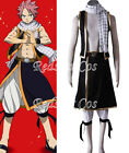 Natsu Dragneel Cosplay Costume from Fairy Tail - Whole outfit or Scarf only