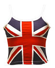 Girls Union Jack Vest Top 2yrs to 12 yrs London Olympics  Queens Jubilee