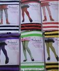 Girls Striped Tights - Dance Costume Bee Rag Doll Strawberry Shortcake Witch