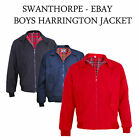 Kids / Boys / Girls Classic Vintage Harrington Jacket (retro mod scooter)