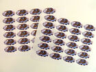 Mouse Oval Seal Labels,  Stickers for Gift Wrap,  Envelopes,  Bags,  Cards