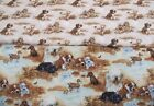 Dog Days 100% Cotton Fabric FQ or Metre Giordano Studios  (S)