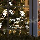 6 Christmas Bell 18 Mix Snowflake Snow Wall Art Window Decoration Sticker Decal