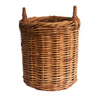 Quality Round Rattan Wicker Log Basket/Toy Storage Basket in a choice of 5 Sizes
