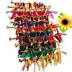 Assorted Mixed Coconut Shell Stick Bead Bracelet Bangle 11 Colors 12 Options