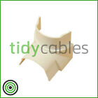 D-Line 50x25 Internal Bend for TV Cable Cover Wire Hiding Trunking (All Colours)