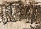 Soldiers Returning From Cuba Lluis Graner 1898 Art Photo/Poster Repro Print
