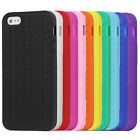 Tyre Soft Silicone Case Skin for Apple iPhone 5 5G - Back Rubber Cover Guard