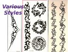 MANY STYLES Temporary Tattoo: Belly button Wrist Body Art Decoration