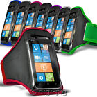 SPORTS ARMBAND STRAP POUCH CASE COVER FOR VARIOUS APPLE MOBILE PHONES AND IPODS