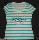 TOMMY HILFIGER  Womans V-Neck  T-Shirt Top Size- Medium or Large NWT
