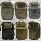 """Tactical Wallet/Organizer - w/Removable USA Flag Patch/Mesh Pocket, 7"""" x 4.75"""""""