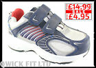 BOYS VELCRO TRAINERS KIDS SCHOOL SHOES PE PUMPS CASUAL SPORTS PLAY PARTY BOOTS
