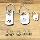 Triangle Picture Wall Hangers Hooks With Screws - Frame Hanging Fixings Pin ring