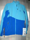NWT Women's Under Armour Full Zip Fleece & Polyester Two Tone 6 Pkt Jacket Coat