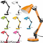 Table Desk Study lighting Lamp Fully Adjustable Metal For Home Office Study Gift
