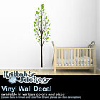 TREE & LEAVES #4 Vinyl Wall Decal (Available in Various Sizes and Colors) K478-W