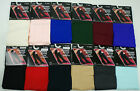 3 Pair Womens Trouser Knee High Socks Size 9-11 Women 12 Different Colors