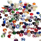 Swarovski 2058/2088 Crystal Flatbacks No-Hotfix Rhinestones Mix Colors ss5-ss30