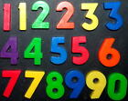 NUMBER magnet for Vintage Fisher Price alphabet SCHOOL DAYS magnet desk U CHOOSE