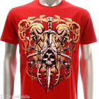 a48r M L XL XXL Artful T-shirt Tattoo Skull Magic Ghost Fashion Graffiti Hip Hop