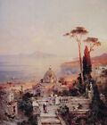 Art Print - The View From The Balcony - Unterberger Franz Richard 1838 1902