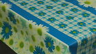 PVC Vinyl Tablecloth Patio Oilcloth - Wipe Clean 140cm/55* Wide - ALL DESIGNS