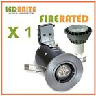 FIRE RATED LED DOWNLIGHTS 240V MAINS GU10 FIXED 4W - 7W DIMMABLE