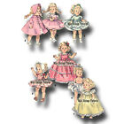 Vtg 50s Pattern Doll Clothes 8