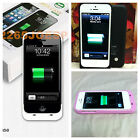 2500mAh iPhone 5  Extended Battery Power Backup External Charger Case Cover Skin