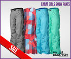 NEW O'NEILL CARAT Girls Childrens Snow Ski Pants Trousers Salopettes