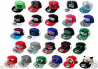 Kids Snap back Caps Various Colours One Size