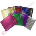 CD SIZE COLOURED METALLIC FOIL BUBBLE ENVELOPES 165 x 165mm *MULTI ITEM LISTING*