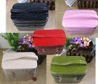 NEW Gift Leather Jewelry Box Makeup Cosmetic Storage Case 2 Floors More Colors