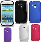 New Grip S Line Silicone Gel Case Cover for Galaxy Samsung S3 Mini+Free Postage