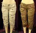 NEW WOMEN AUTHENTIC ANAMA TWO DIFFERENT COLORS OF CAPRIS SIZE 25 TO 29