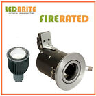 FIRE RATED TILT LED DOWNLIGHTS 240V MAINS GU10 FIXED 4W - 7W DIMMABLE