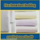 Fire / Flame Retardant FITTED / FLAT SHEET - BS 7175 Certified