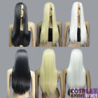 28 inch Heat Resistant All Colors Bangless Long Cosplay Wigs